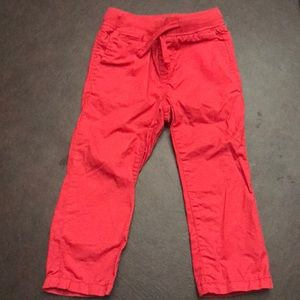 Gap boys red pants worn once